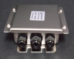 4 Channel Stainless Steel Junction Box w/ Summing Card